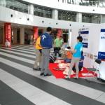 AED体験コーナー